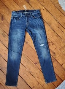 Hollister Stacked Skinny Jeans 30x30